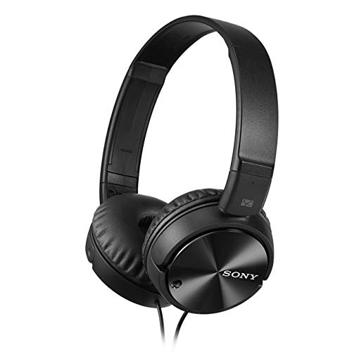 Sony MDRZX110NC Noise Cancelling Headphones, Black, medium