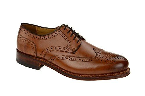 Gordon & Bros. Herrenschuhe - rahmengenähte Schuhe - GoodYear Welted LEVET 2318-E midbrown Braun, EU 46