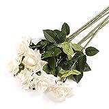 JINLIAN205-SHOP decoración hogar Moda Rosa Flor Artificial Creativa Flor Falsa Sala de Estar Arreglo Floral de Escritorio Decoración Floral Flores secas (Size : C)