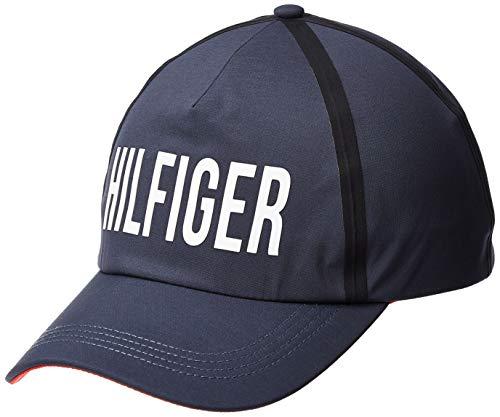 Tommy Hilfiger Hilfiger Print Cap Gorra de béisbol, Azul (Corporate 901), Talla...