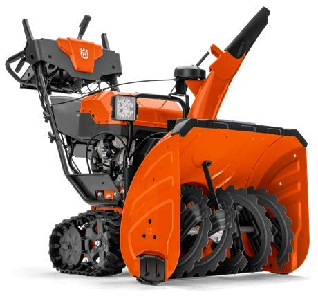 Learn More About Husqvarna ST424T (24) Two Stage Track Drive Snow Blower w/EFI Engine 961930132