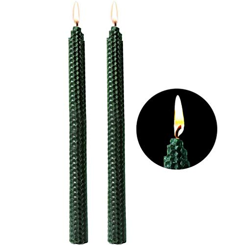 KEO Christmas Beeswax Candles,Scented Premium Paraffin Grade Candle, Soy Scented Candles Gift Sets for Holiday, Party, Wedding, Birthday, Bar, Event Decorative Lighting (2 Pieces) (1)