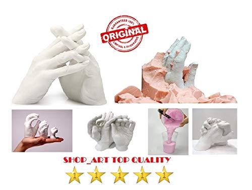 Kit per impronte 3D per stampi di mani piedi ed altro ancora,ricordo meraviglioso.