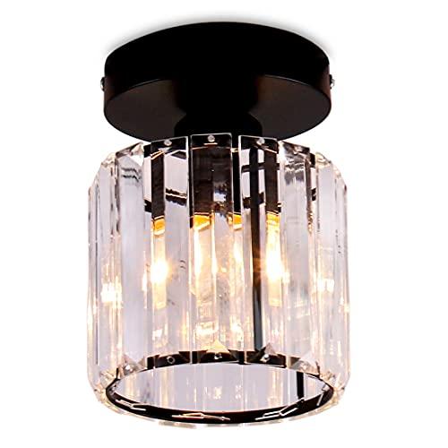 Iluminación de techo de cristal Mini candelabro Lámpara de techo moderna Lámpara...