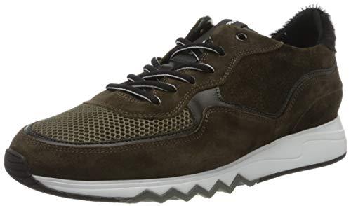 Floris van Bommel Herren 16093/15 Sneaker, Grün (Dark Green Suede Combi 15), 38 EU (5 UK)