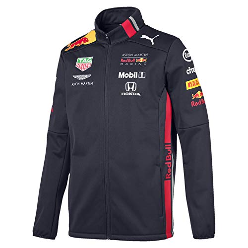 PUMA Red Bull Racing Herren Team Softshelljacke Night Sky L