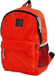 حقيبة ظهر مدرسية بوليستر ضد الماء للأطفال من مينترا - برتقالى غامق
