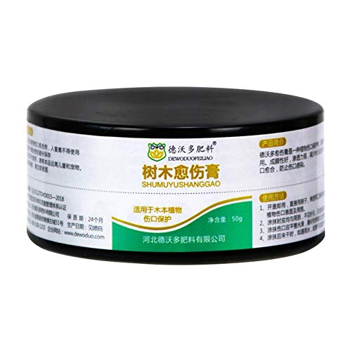 LLDWORK Bonsai Pruning Cutting Paste Wound Paste and Grafting Sealant Bonsai Tool Kit for Garden Plant Grafting, 50 g