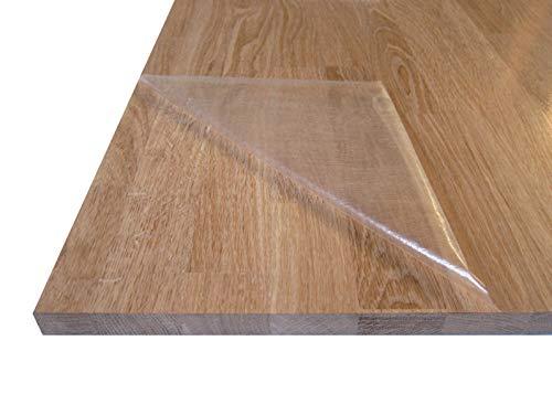 Tablero de Madera Maciza de Roble. Alistonado. Natural, sin Barniz. Para Muebles, Mesas, Encimeras Cocina. Corte a Medida: (Roble 1,9 cm, 80 x 50 cm)