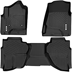 oEdRo Floor Mats for Chevrolet GMC Sierra
