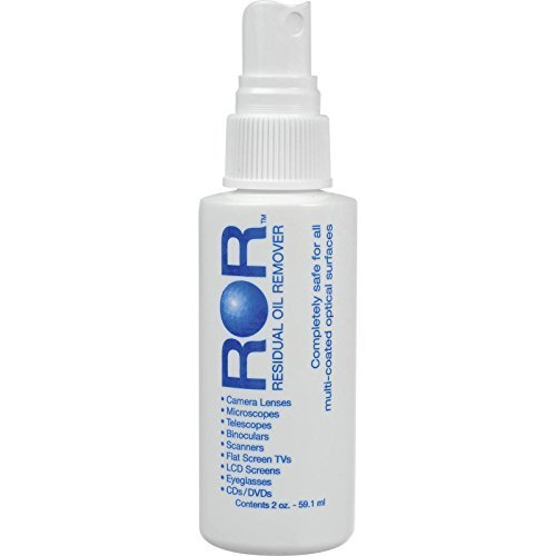 2 X ROR Optical Lens Cleaner 2 Oz Spray Bottle