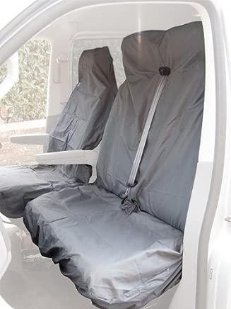 Citroen Berlingo 2008 Van Seat Cover Complete Set  Front  amp  Double   Grey
