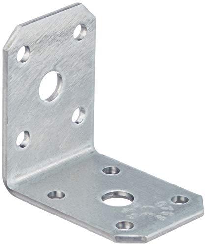 Connex Sparpack Winkelverbinder 50 x 50 x 35 x 3 mm, verzinkt, 25 Stück, HVG2600