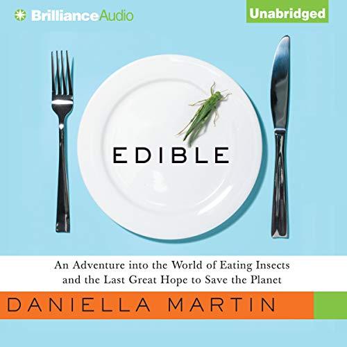 Edible audiobook cover art