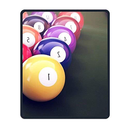 Billard Tischtennis Tragbares Gaming-Mauspad Komfortable rutschfeste Basis Langlebige genähte Kanten