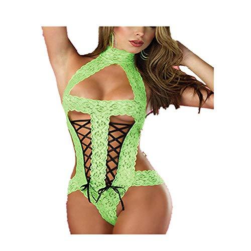 Reasoncool Mode Frauen Sexy Bogen Spitze Rassige Unterwäsche Gewürzanzug Versuchung Dessous Provocative Nuttiges Erotische Sleepwear