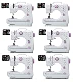 FLYTYSD Sewing Machine for Beginner, Heavy Duty Sewing Machine with Automatic Needle Threader