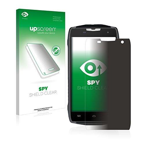 upscreen Anti-Spy Blickschutzfolie kompatibel mit Doogee T5 Privacy Screen Sichtschutz Bildschirmschutz-Folie