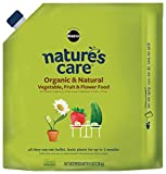 Mircale-Gro Nature's Care Organic & Natural Vegetable, Fruit & Flower Food, 3 lb.