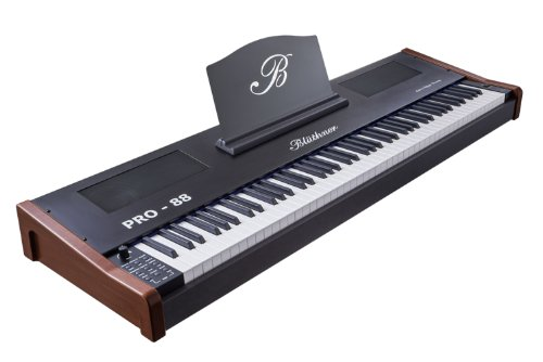 Blüthner PRO-88 e-Klavier Mahagoni Stagepiano (Polyphonie: 144 Stimmen, 88 Tastenanzahl, MIDI, USB)