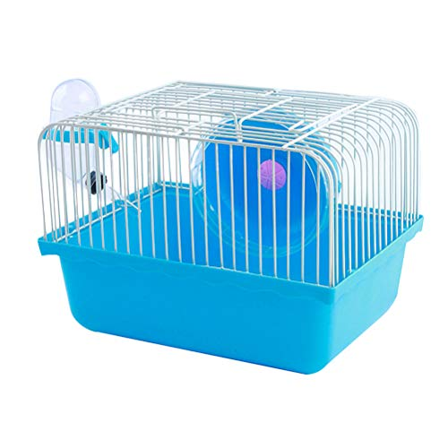 Balacoo Hamsterkäfig Transportbox für Hamster Kleintiere, 23 x 17 x 15 cm