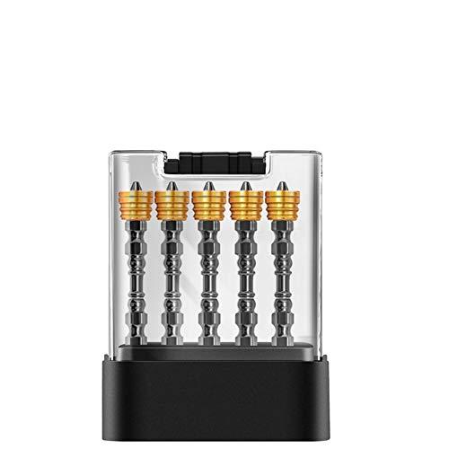 XYDESIGN Juego de Puntas de Destornillador de 10 Piezas Ph2 X Φ4.5 Mm X 65 mm Magnético Doble Cabeza Cruzada S2 Aleación de Acero Tornillo Phillips Anillo magnético con Caja de Almacenamiento