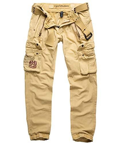 Trooper Royal Traveler Trousers, Herren Cargo Hose, Royal Sahara Slim XL