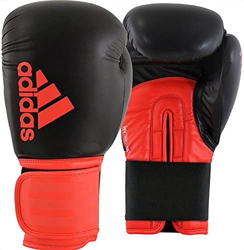 adidas Boxing Gloves - Hybrid 100 - Gloves for Men and Women - Boxing, Kickboxing, Training, Cardio...