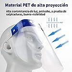 10Pcs Pantalla Protección Facial-FUSIYU Protector Facial Antivaho,Visera de protección facial,Reutil... #4
