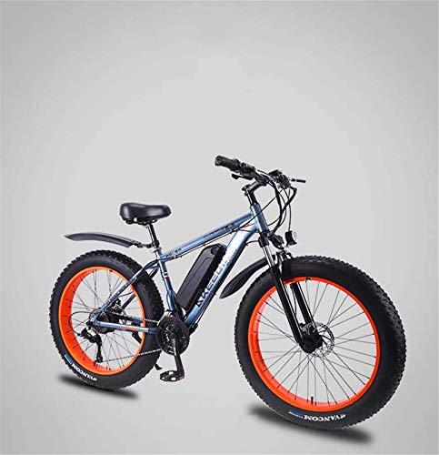 Bicicletas Eléctricas, Adulto Fat Tire Bike montaña eléctrica, batería de litio de...