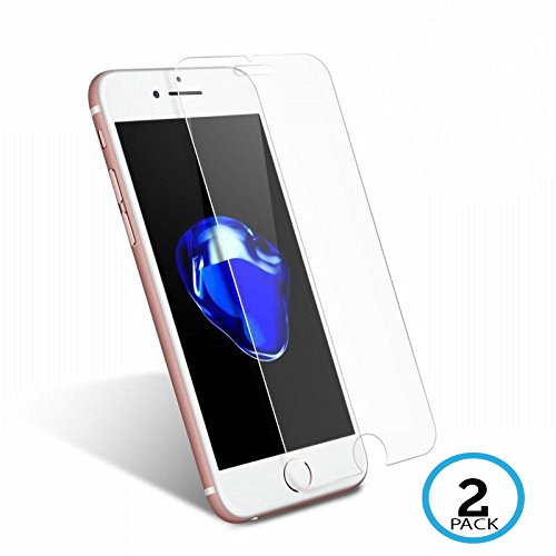 My gadget shops iPhone 7 Screen Protector [2 Pack] Shatter Proof [Case Friendly] [Easy Install] and Bubbles Free for Apple iPhone 7 (Tempered Glass)