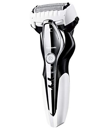 パナソニック ラムダッシュ メンズシェーバー 3枚刃 お風呂剃り可 白 ES-ST2Q-W