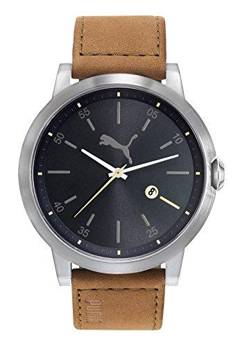 PUMA TIME Reloj Analogico para Hombre de Cuarzo con Correa en Cuero PU104231005