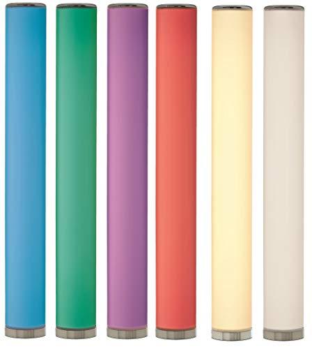 Northpoint LED Stehlampe Lichtsäule glatt Stehlampe Standleuchte Stehleuchte dimmbar Farbwechsel mit Fernbedienung