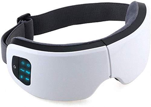 XYFW Elektrisches Augenmassagegerät, Faltbare Wiederaufladbare Augentherapiemaske Mit Luftdruck-Vibrationsmusikwärme Zum Entspannen Der Augen