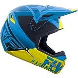 Fly Racing Casco Mx 2019 Elite Vigilant Azul-Amarillo-Negro (Xl, Azul)