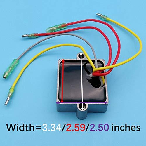 Tuzliufi Replace Voltage Regulator Rectifier Mercury Mariner Outboard 5 Wires 25hp 30hp 40hp 65hp 70hp 75hp 80hp 90hp 100hp 105hp 115hp 125hp V 135hp V 140hp V 200hp 95hp 120hp 175hp 210hp 250hp Z33 Buy