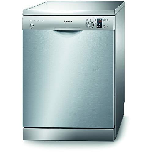 Bosch Serie 2 SMS25AI00E lavavajilla Independiente 12 cubiertos A+ - Lavavajillas (Independiente, Tamaño completo (60 cm), Acero inoxidable, Acero inoxidable, Botones, Giratorio, 1,75 m)