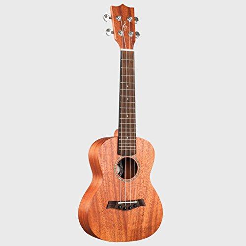 LINGZHIGAN 34 Zoll Mahagoni Nudeln Einzelne Ukulele Holz Farbe Kleine Gitarre