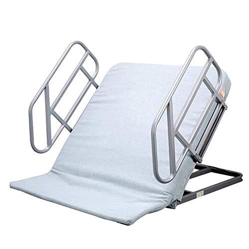 ZZYYZZ Soporte de Respaldo eléctrico Ajustable para Sentarse, Ayuda para Ancianos, Respaldo de Cama con elevación eléctrica, para el Cuello ortopédico, Cabeza, Soporte Lumbar, cuña para la Cama