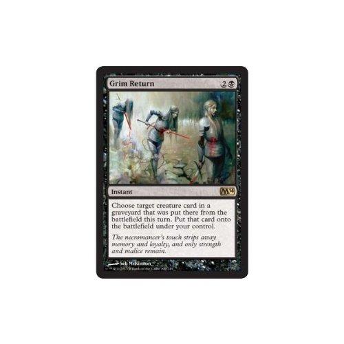 Magic The Gathering - Grim Return (100/249) - Magic 2014