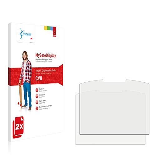 Vikuiti 2X Bildschirmschutzfolie CV8 von 3M kompatibel mit Emporia Talk Comfort Schutzfolie Folie