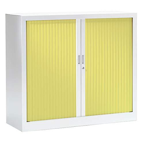 Armoire à rideaux ignifuge M1 | Blanc | Anis | HxLxP 1000 x 1200 x 430 | Pierre Henry -