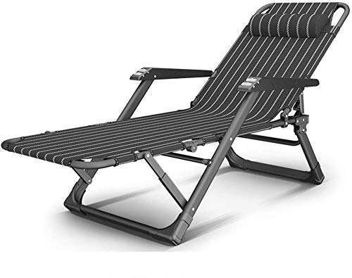 Tragbare Patio Lounge Stühle Chaise Lounges Zero Gravity Chair Übergroße, Klappbare Lounge Stühle Mit Kissen Lawn Chair Verstellbarer Camp Reclining Breathable Patio Lounge