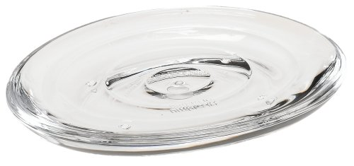 UMBRA Droplet Soap dish. Porte savon Droplet, en acrylique transparent, 14xx10x2cm.