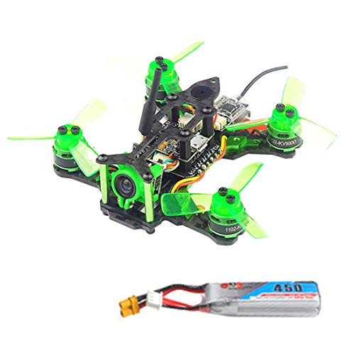 HAPPYMODEL Mantis85 85mm FPV Racing Drone Pure Carbon Quadcopter Frame Kit Supers_F4 6A BLHELI_S 5.8G 25MW 48CH 600TVL Camera + Flysky Receiver