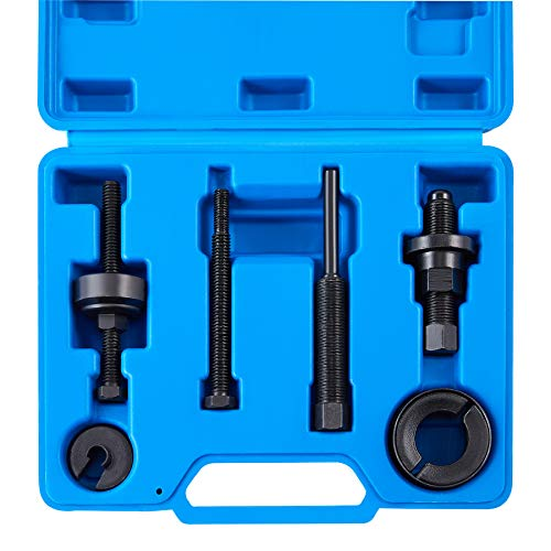 Orion Motor Tech Power Steering Pump Pulley Puller/Installer Tool Set, Pump Pulley Remover Installer Tools Compatible with Ford, GM, and Chrysler Vehicles