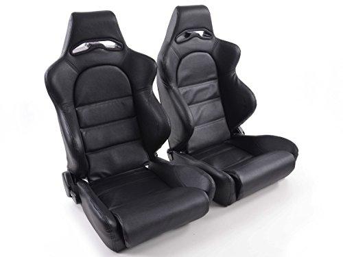 Universal Sportsitz Edition 1, Set aus 1 x linker und 1 x rechter Sitz, schwarz