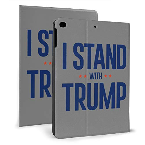 Donald Trump 2020 Support IPad Case Fit IPad Mini 4/5,Ipad 2017/2018 & Ipad Air 1/2 Stand Cover Case for Apple IPad 9.7 Inch Slim Stand Hard Back Shell Protective Smart Cover Case -  NOT, Lndbsa-111650685-Lods-Black-265