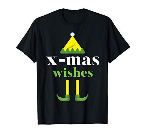 X-mas Wishes Merry Christmas Elf Santa